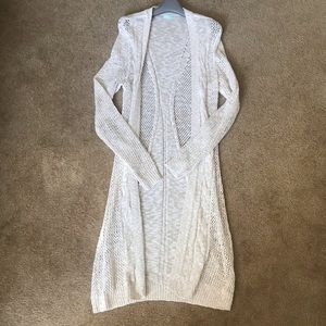 Long knit cardigan from Maurices